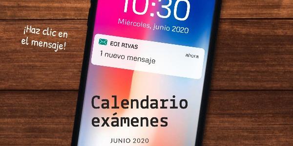 Calendario de Exámenes Online Junio 2020 Cursos A2.1/B2.1/C2.1