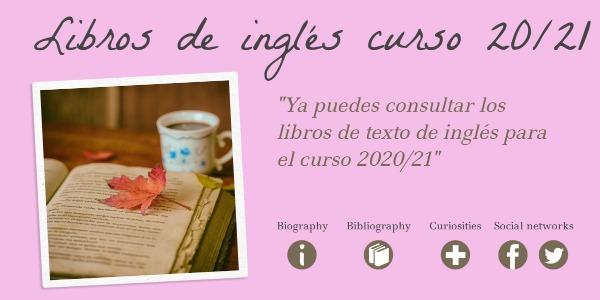 LIBROS DE TEXTO INGLÉS