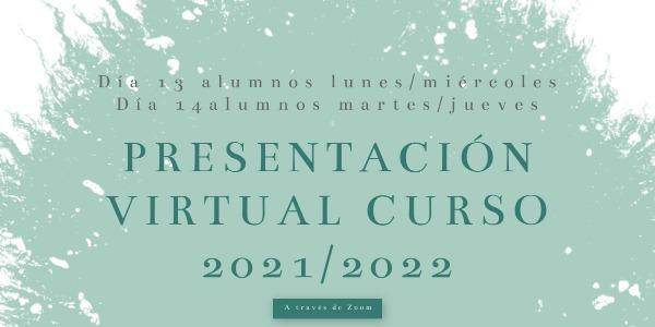 COMIENZO DE LAS CLASES CURSO 2021/2022